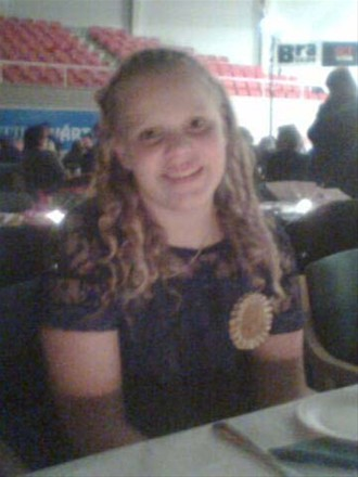 Alexandra på Golden Go 2008